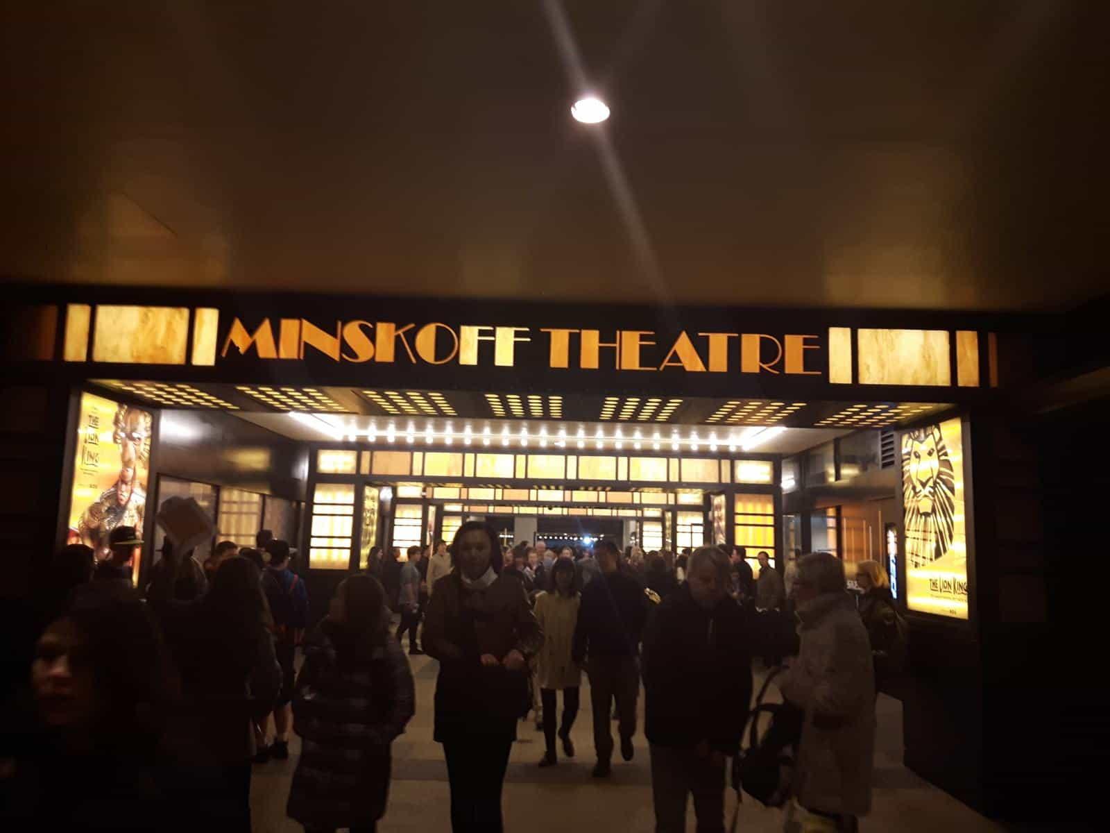 Minskoff Theatre New York