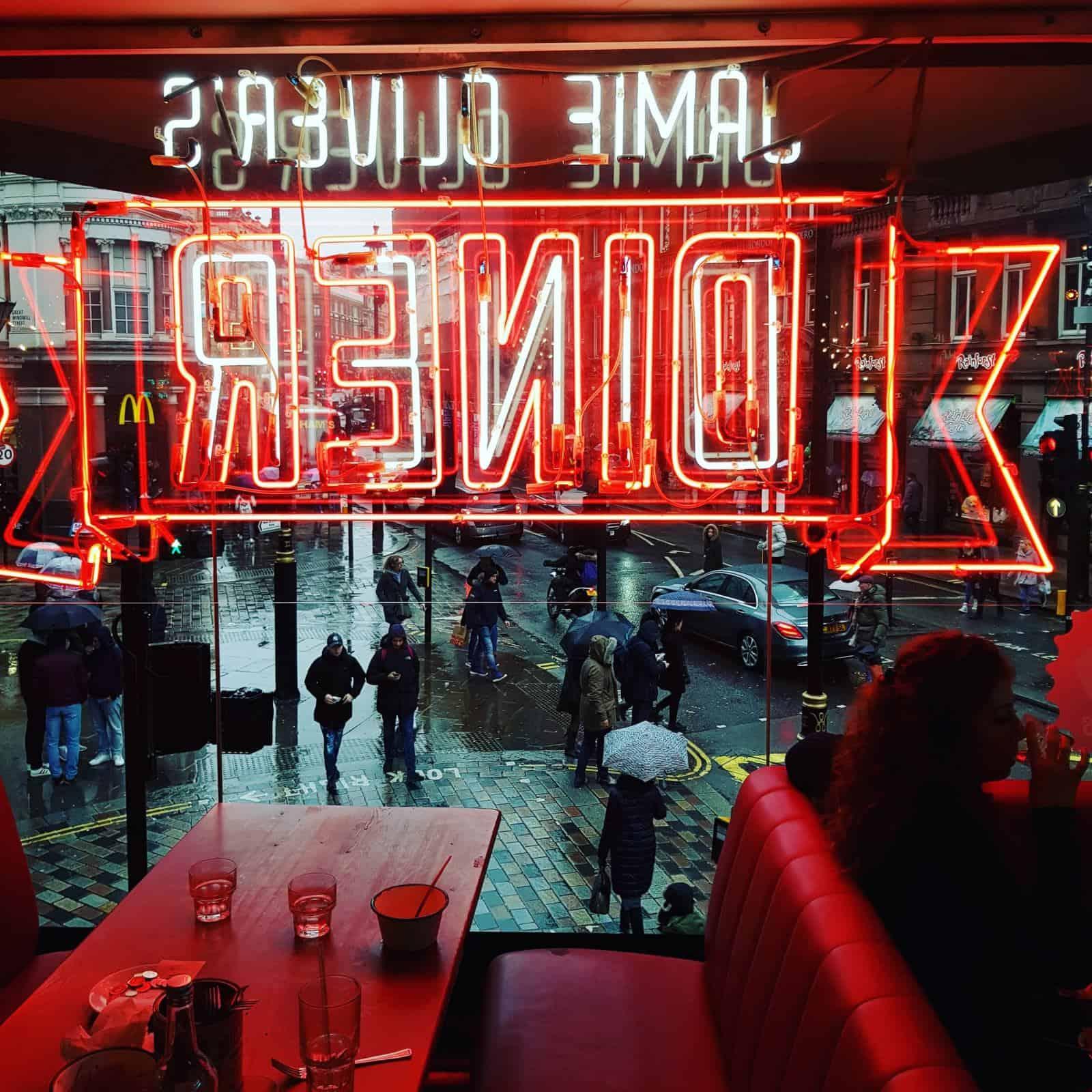 Jamies Diner London
