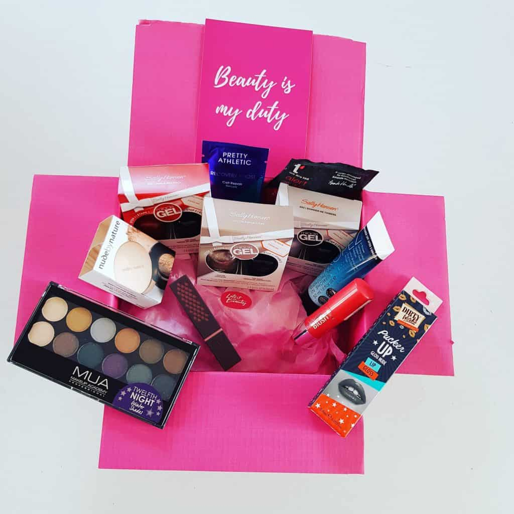 Latest In Beauty Guru Box. The best beauty subscription box in the UK, you can pick 9 items. #beauty