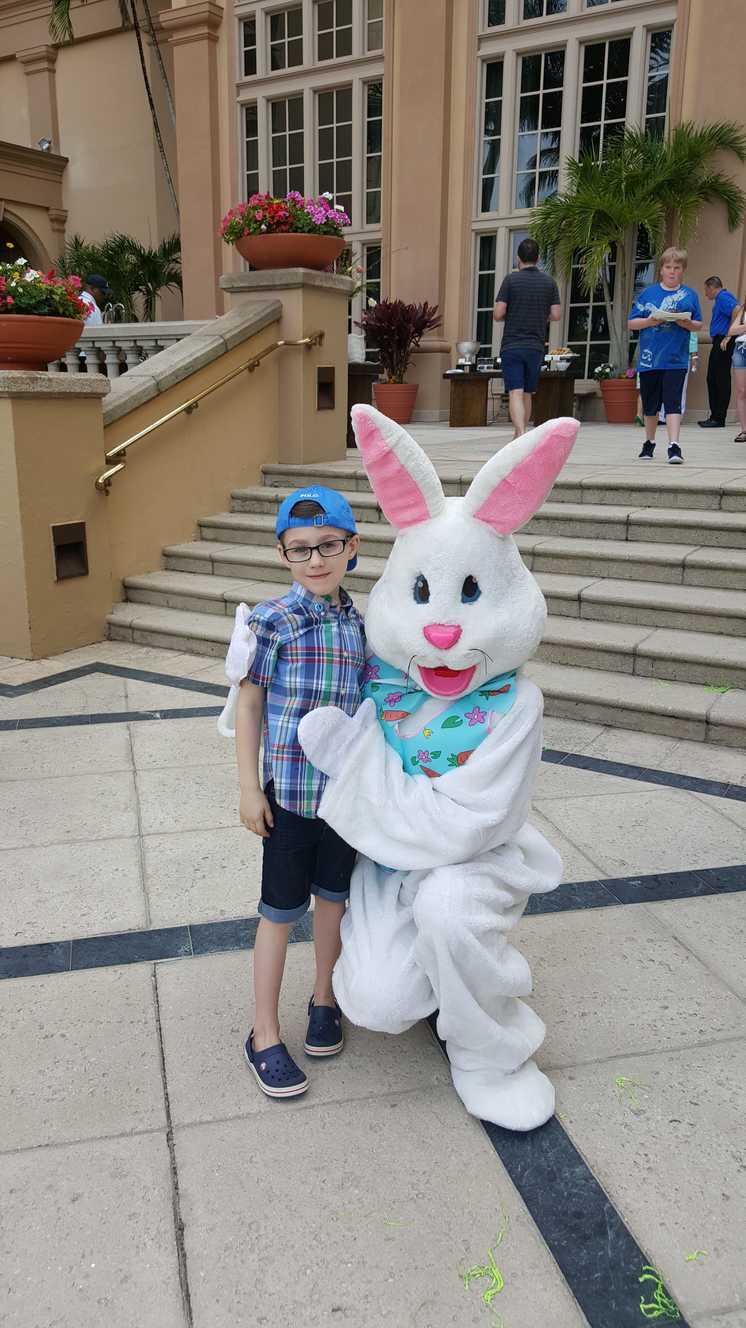 Easter Sunday at Ritz Carlton Hotel, Naples Florida