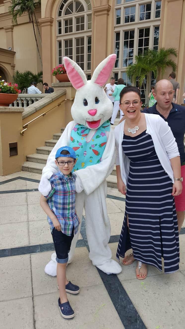 Easter Bunny Selfie