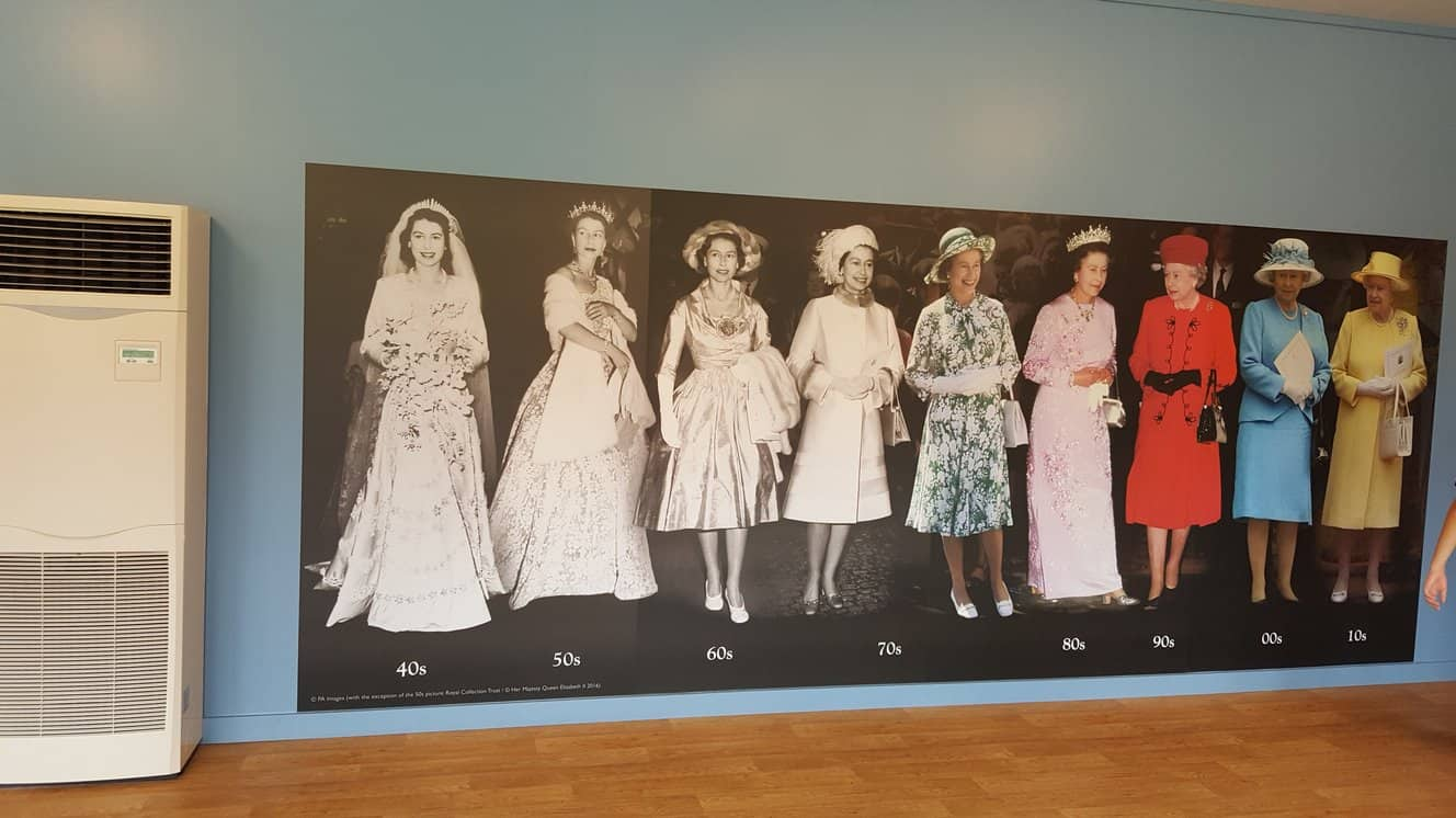Queens outfits from 1940's to 2010 #bblogger #queen #royalfamily #dresses