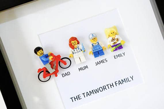 Lego Personalised Fathers Day Gift