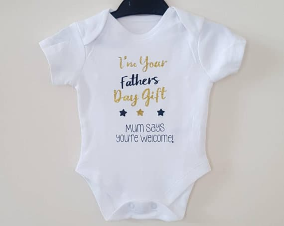 Baby Grow Fathers Day Gift