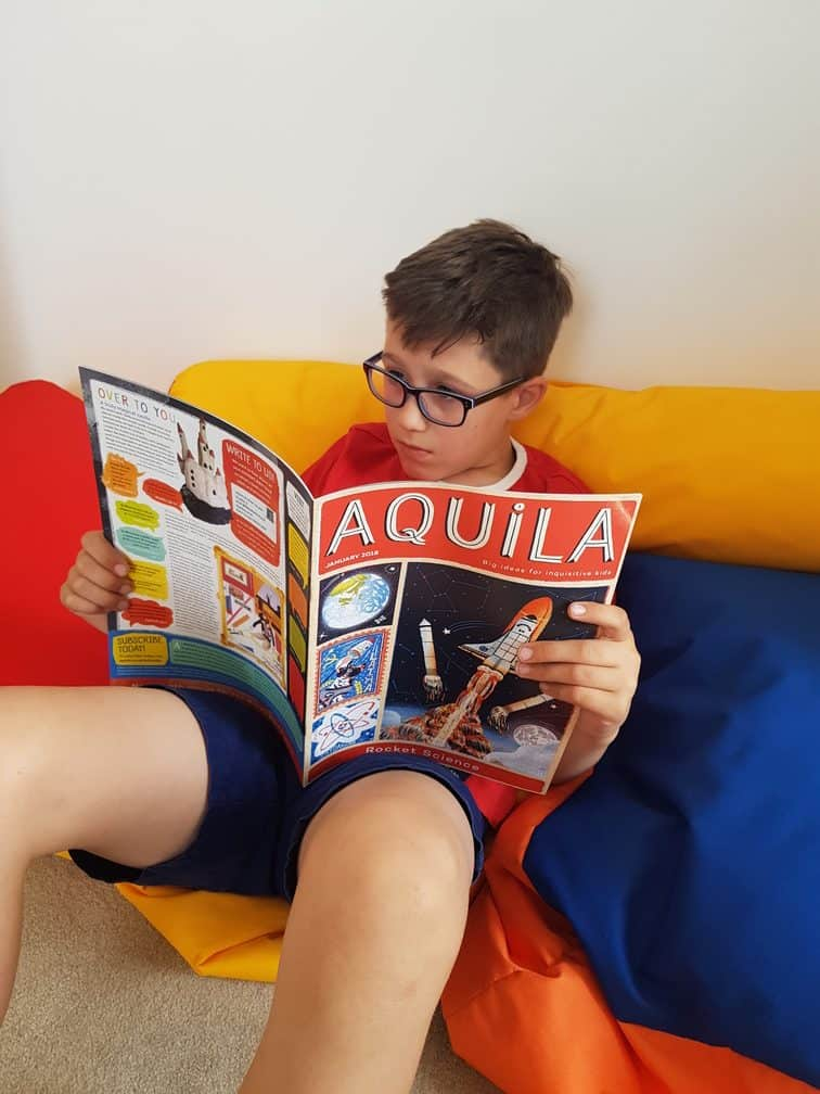 Aquila Magazine Kids Subscription Box UK