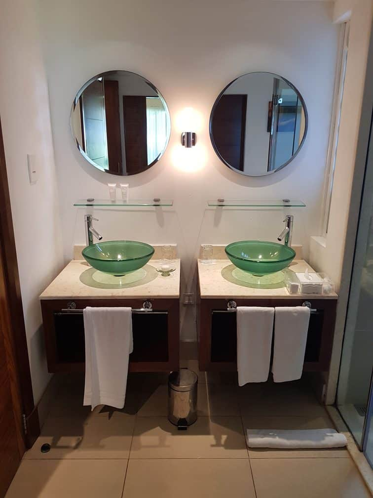 Tamassa Resort, Mauritius Room 1008 Sink