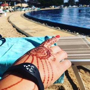What to pack on a family holiday - Insect repellent Henna Tattoo #henna
