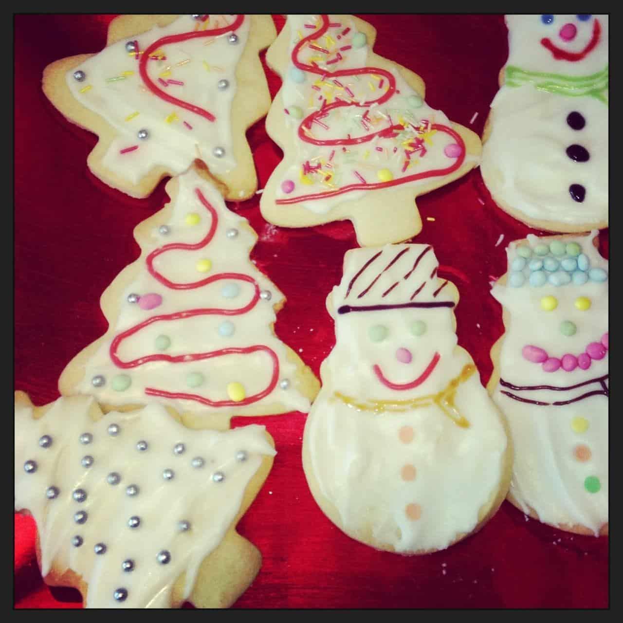 North Pole Breakfast Christmas Cookies
