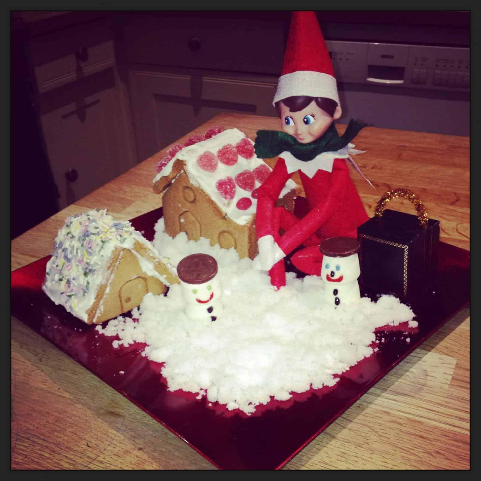 North Pole Breakfast Christmas Scene