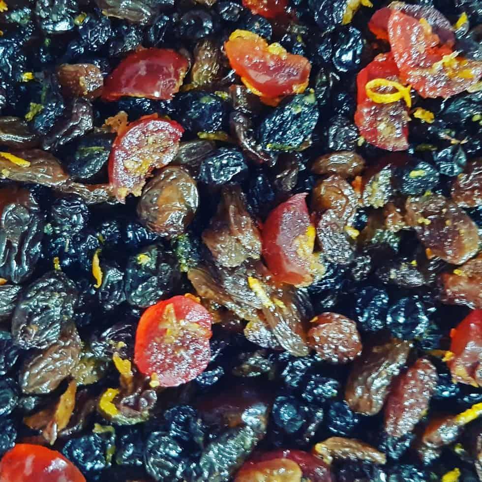 Christmas Cake Fruit