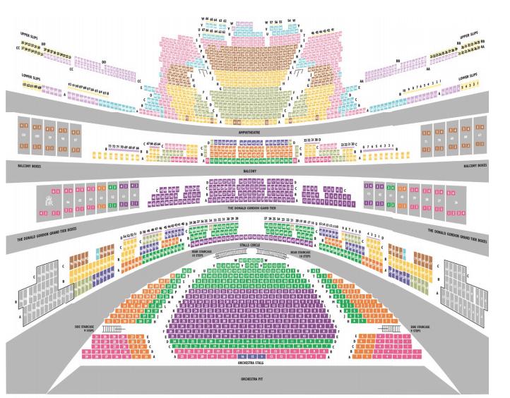 ROH Seating Plan