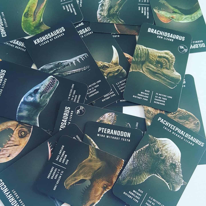 4D+ Retrak Utopia 360° Dinosaur Cards
