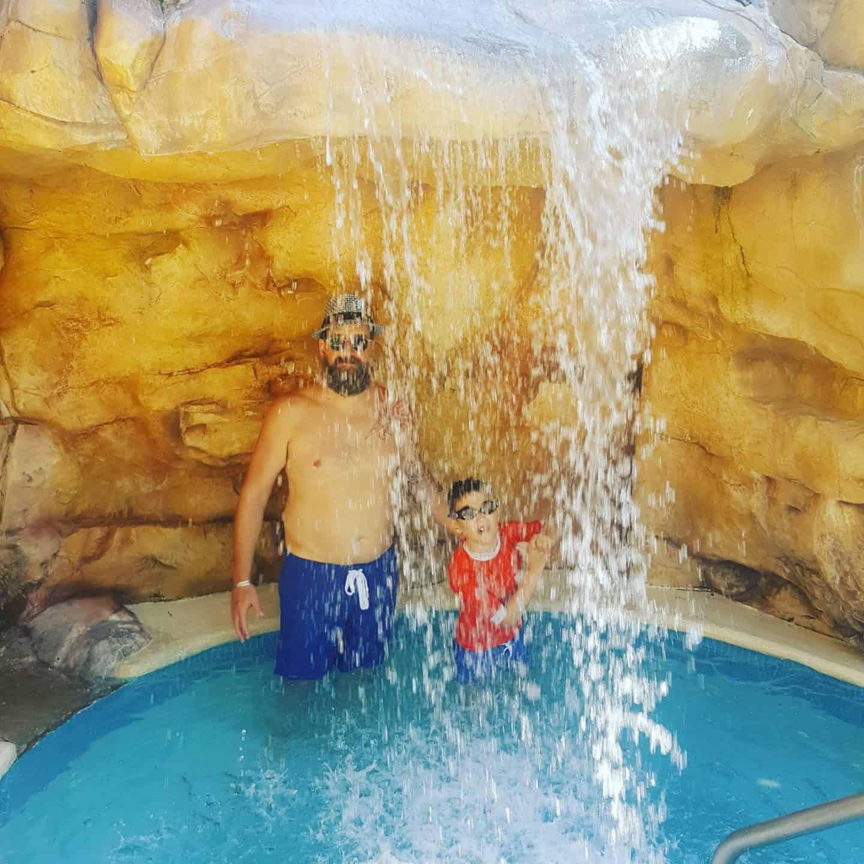 Hilton rose Hall Jamaica Water fall