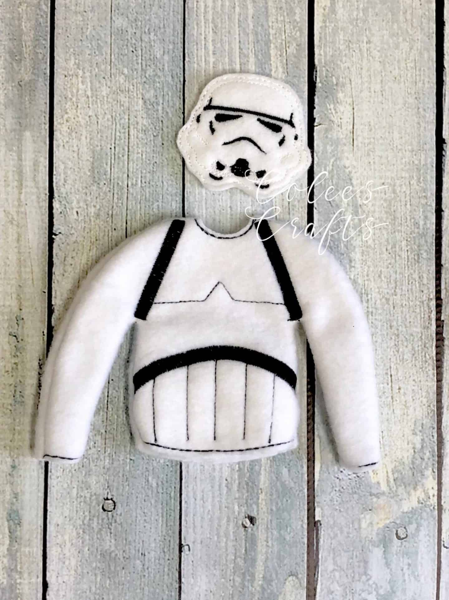 Star Wars Stormtrooper Elf on the Shelf
