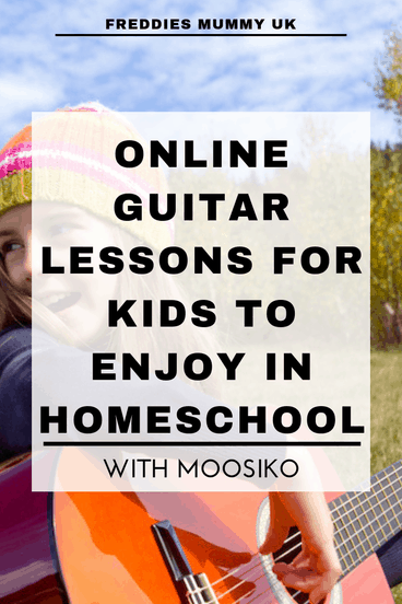 Online Guitar Lessons for Kids to Enjoy in Homeschool with Moosiko  #guitar #guitarlessons #homeschool #learningmusic #music #musicalinstruments