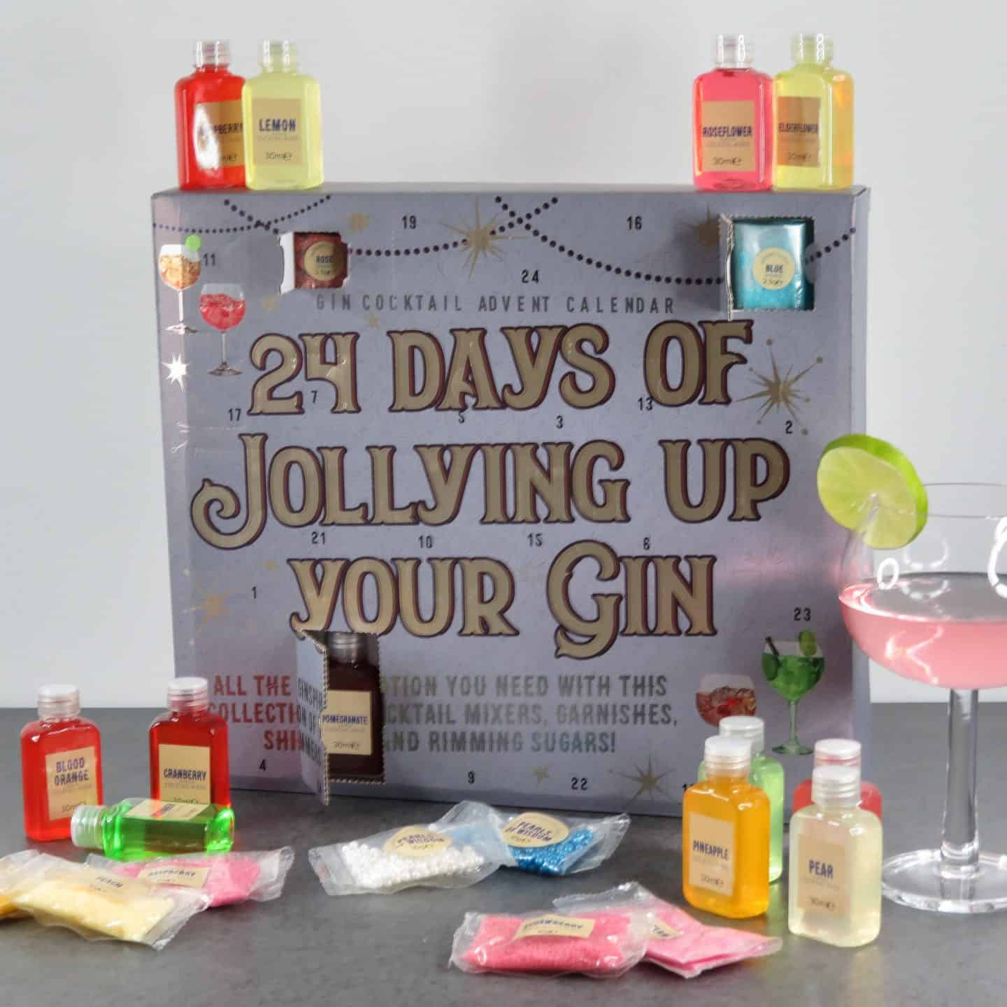 The best adult advent calendar. 24 days of jollying up your gin