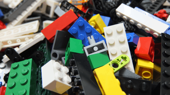 Things to do for bored kids - play lego