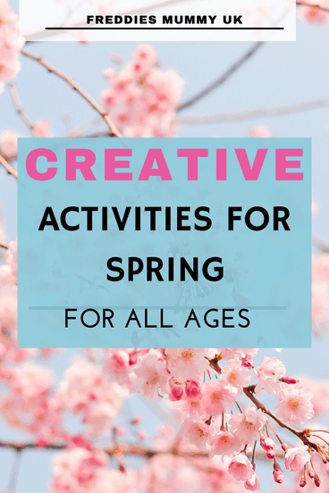 Creative Activities for Spring with kids   #spring